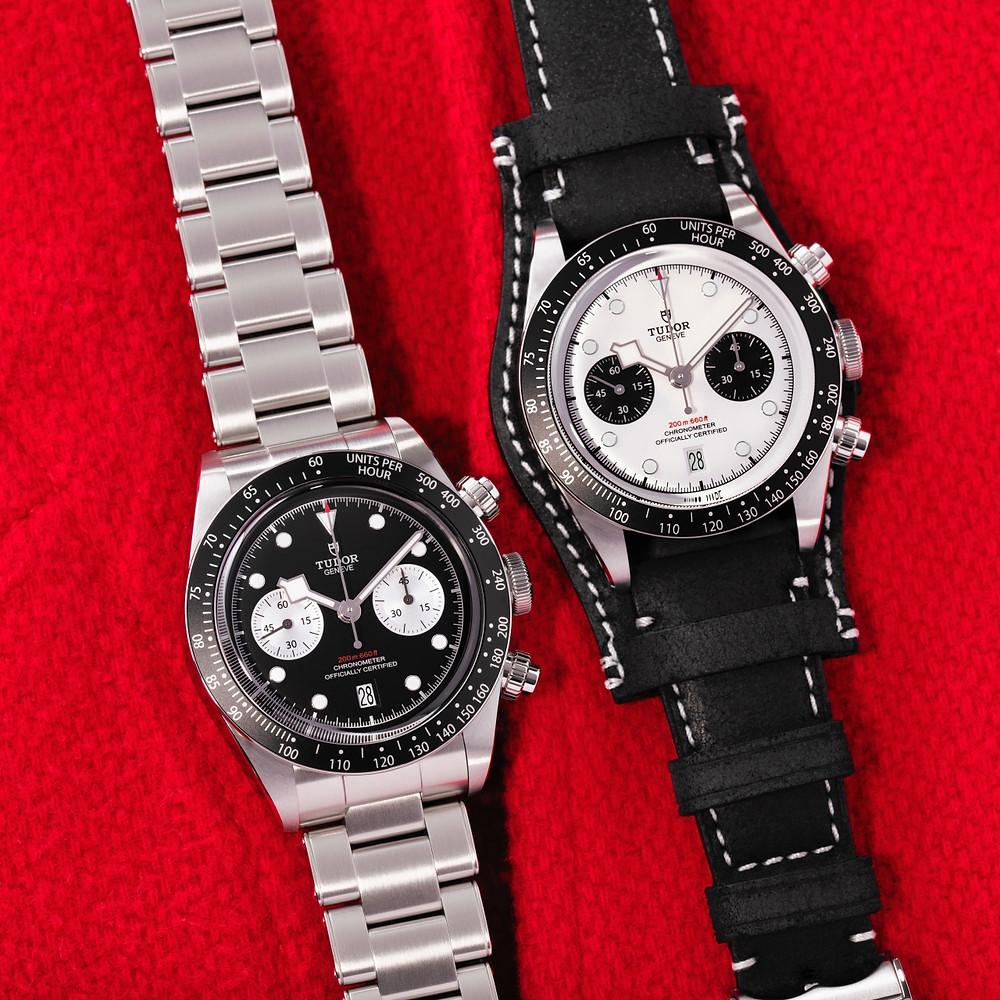 新款紀念計時碼錶五十週年的TUDOR Black Bay Chrono有著更加復古的外在