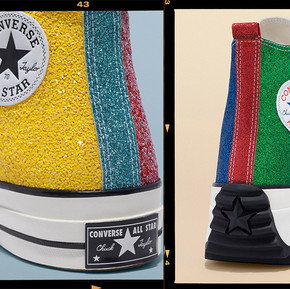 Converse x JW Anderson 推出了夏天GLITTER新款/ Converse x JW Anderson Deliver GLITTER for the Summer Season