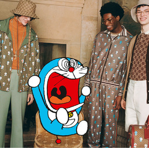 Gucci與哆啦A夢的跨世紀合作/ Gucci x Doraemon, the cross-century cooperation