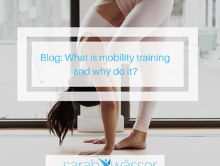 What is mobility training and why do it?