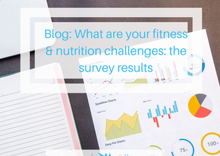What are your fitness & nutrition challenges? Survey results