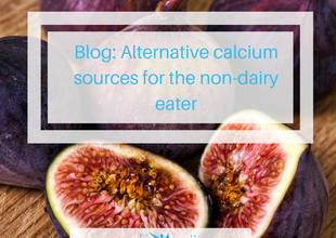 Alternative calcium sources for the non-dairy eater