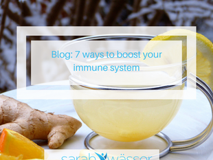 7 ways to boost your immunity
