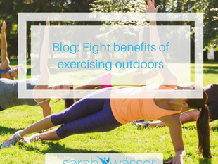 Eight benefits of exercising outdoors