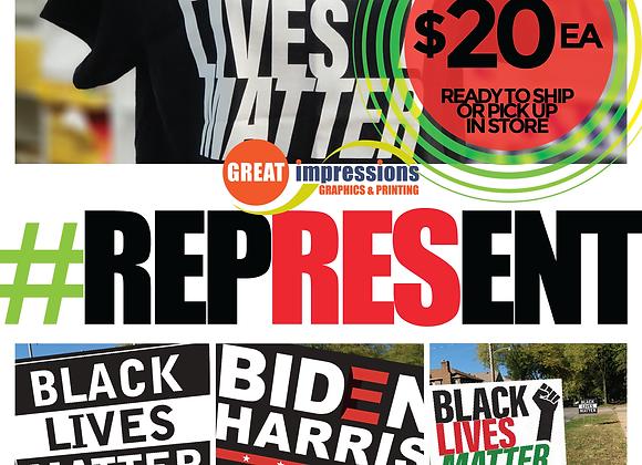 BLACK LIVES MATTER  #Represent BUNDLE