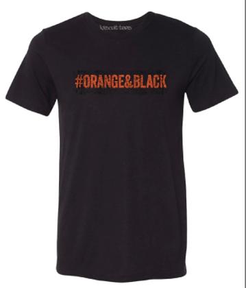 #ORANGE&BLACK
