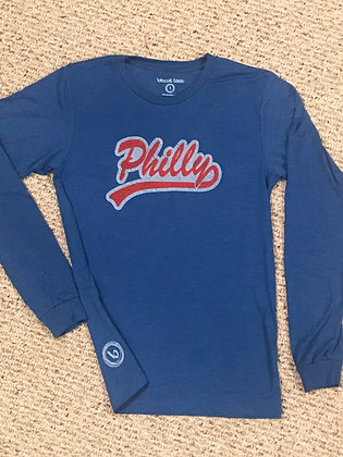 Blue Philly long sleeve