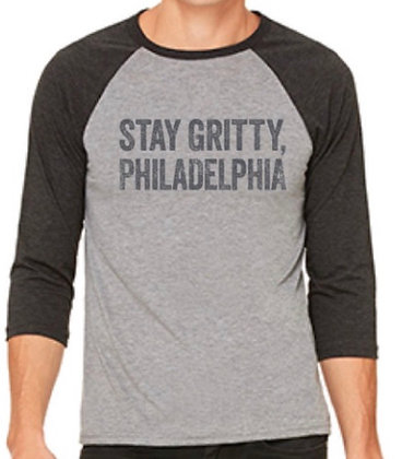Stay Gritty Baseball Tee