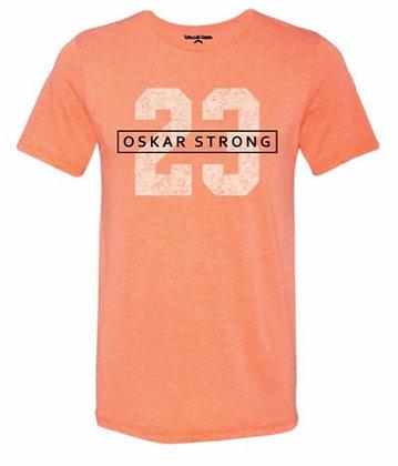 Orange Oskar Strong Tee