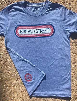 Youth red/blue 70's Broad Street