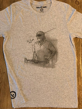 Mens Bernie Parent Fishing Tee
