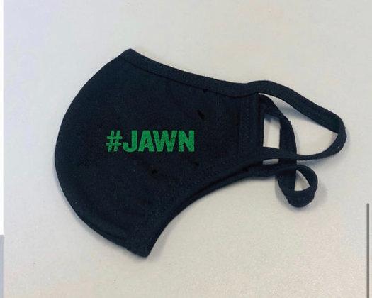 #JAWN mask black/green