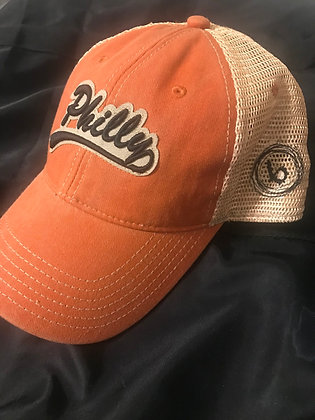 Orange/black Philly Hat