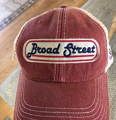 Red Broad Street hat