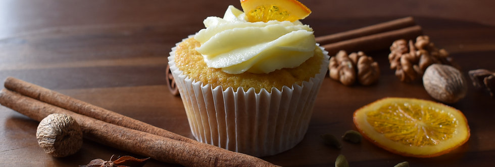 Orange and Anise Cupcake Box