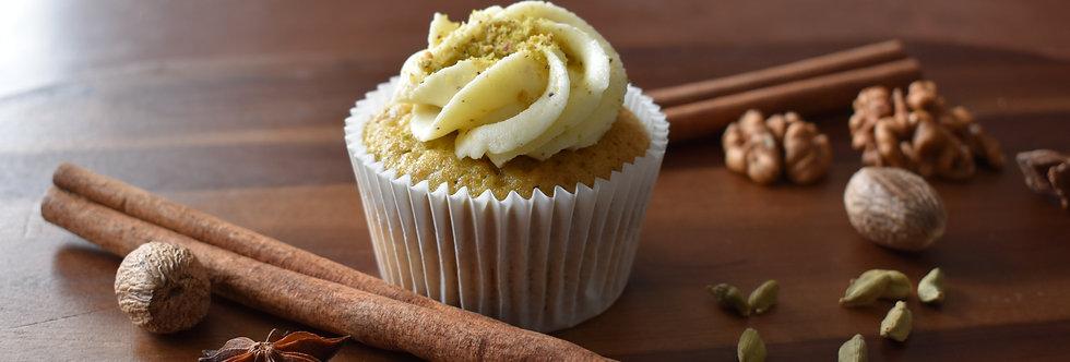Pistachio and Cardamom Cupcake Box