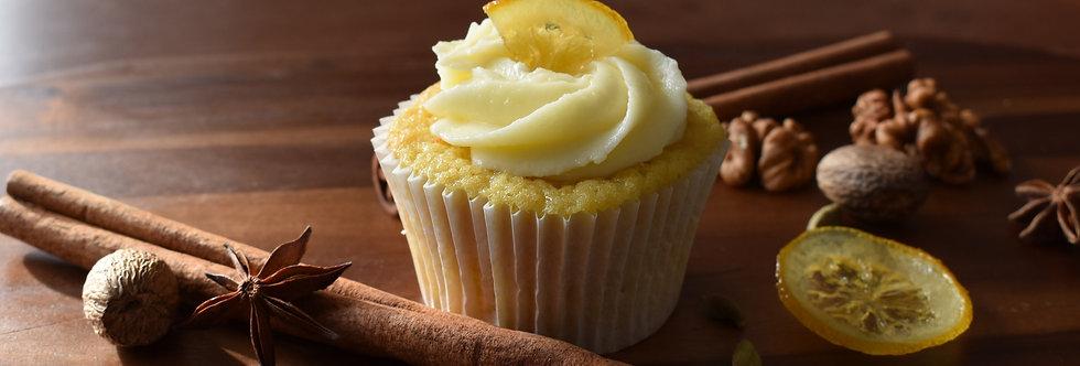 Lemon and Cinnamon Cupcake Box