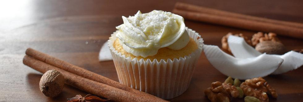 Coconut and Nutmeg Cupcake Box