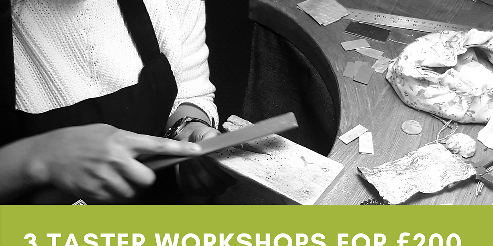 Three Taster Workshops for £200