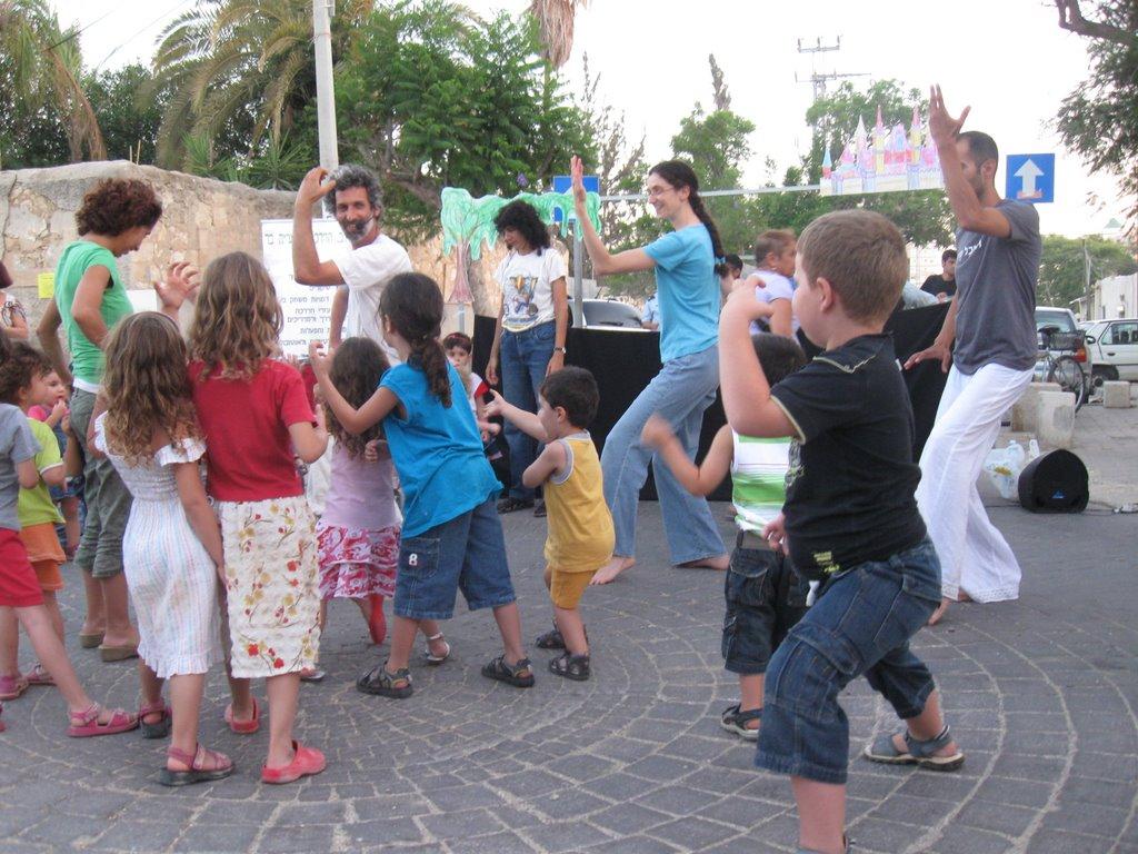 פעילות למשפחות - פסטיבל סמולמסקי ב״ש 2009