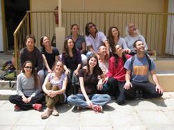 עם צוות מגע, 2009