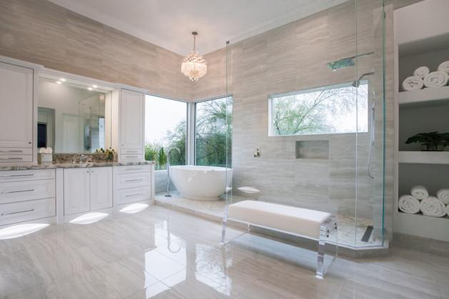 Paradise Valley Master Bathroom