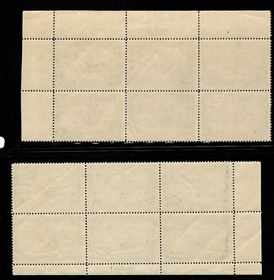 United States RW-1 plate block of 6. Nev