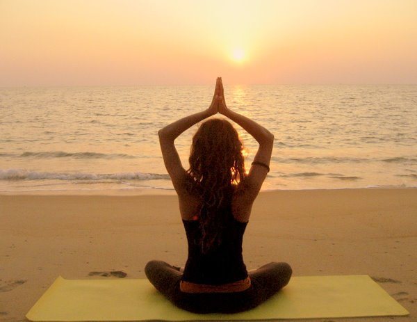 Beach Yoga in Nosara