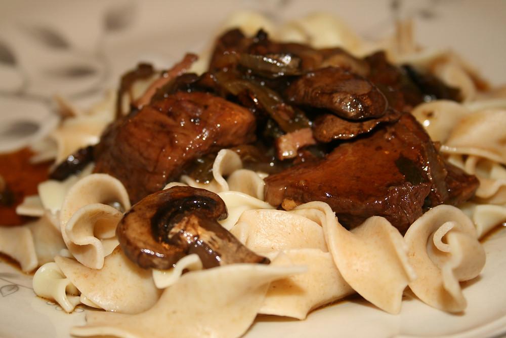Slow Cooker Jalapeno and Portobello Braised Beef