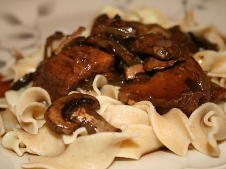 Jalapeno and Portobello Braised Beef