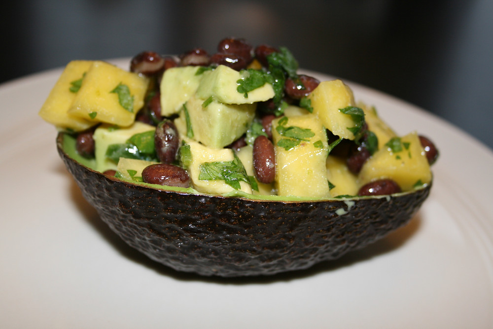 Mango and Black Bean Avocado Bowl