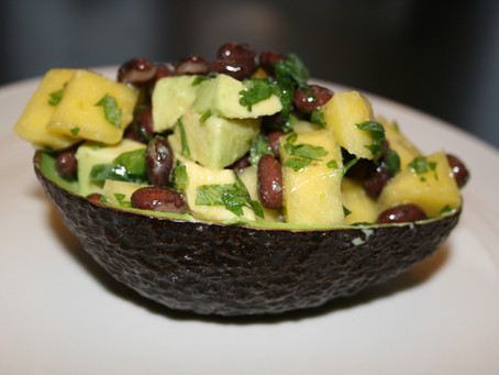 Mango and Black Bean Avocado Bowl