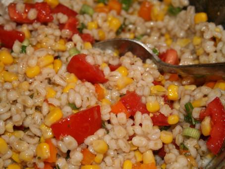 Festive Barley Salad