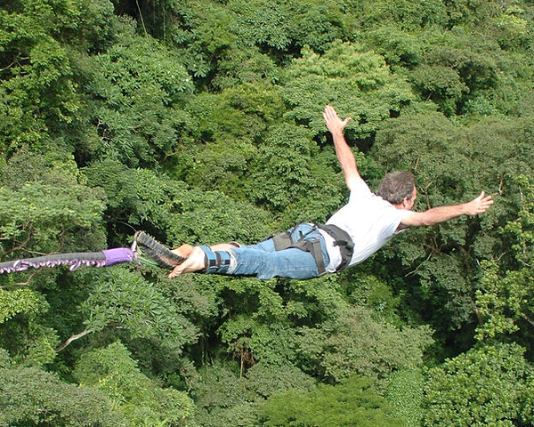 Steve Jacobus bungee jump