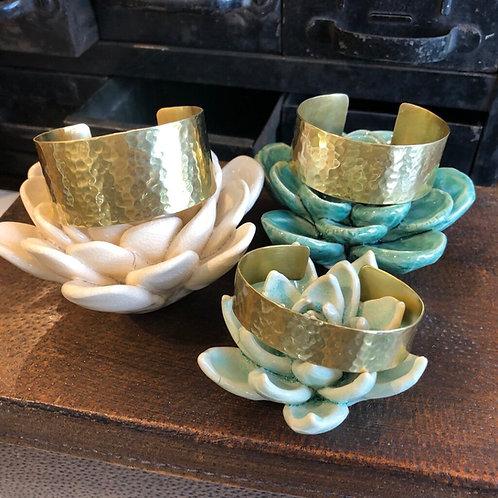 Brass Cuff Bracelet ($18-28)