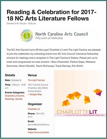 Rebecca Gummere NC Arts Council