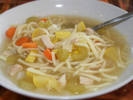 Soup-er Quick Chicken Noodle