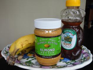 Almond Butter Banana Mousse