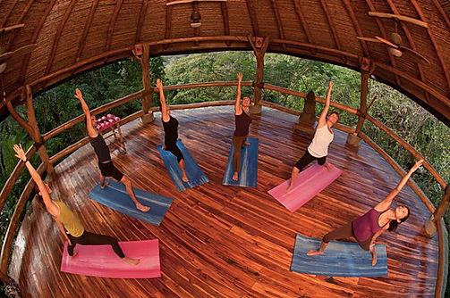yoga pavillion Tierra Magnifica Costa Rica