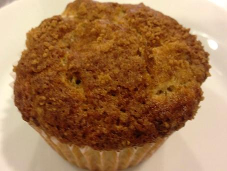 Sweet Rhubarb Muffins
