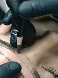 Microblading at skincare+lash