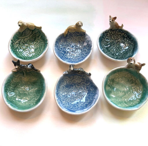 Artisan Ring Dishes- DOGS