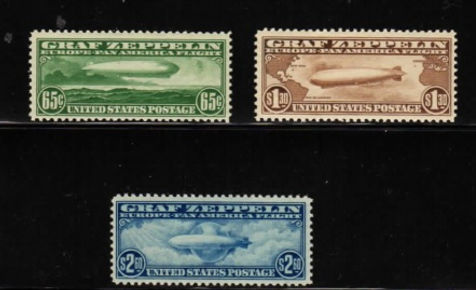 nited States C13-15 set, NH. Price is $1