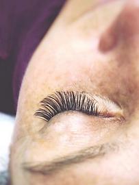 eyelashes at skincare+lash