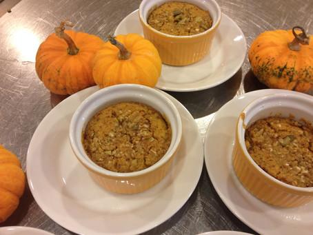 Baked Pumpkin Pudding