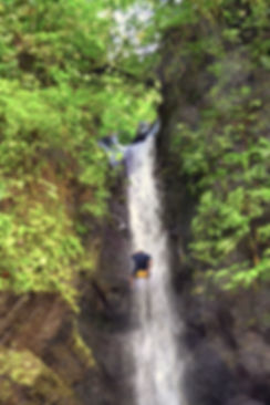 Waterfall Repelling Costa Rica