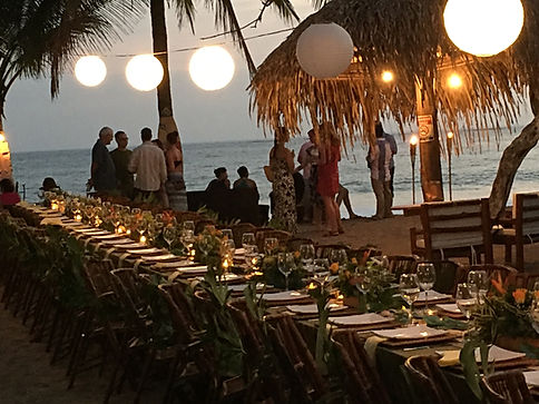 Rehearsal dinner at Tierra Magnifica