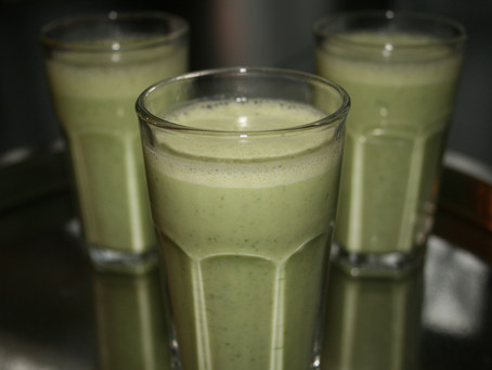 Green Apple Cucumber Smoothie