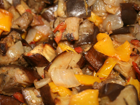 Roasted Vegetable with Eggplant
