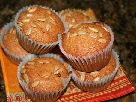 Sweet Sunflower Muffins